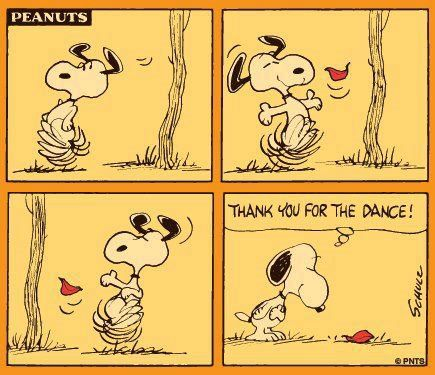 Friday funnies: Nobody dances like Snoopy :) #humor