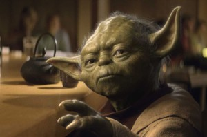 """And I quote:""""Do or do not. There is no 'try'."""" -Yoda, from Star Wars #inspire #quotes"""