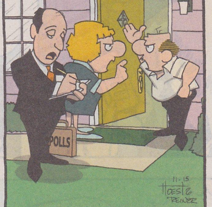 Friday funnies: Leroy & Loretta in the Raiser's Edge!! :) #blkbre